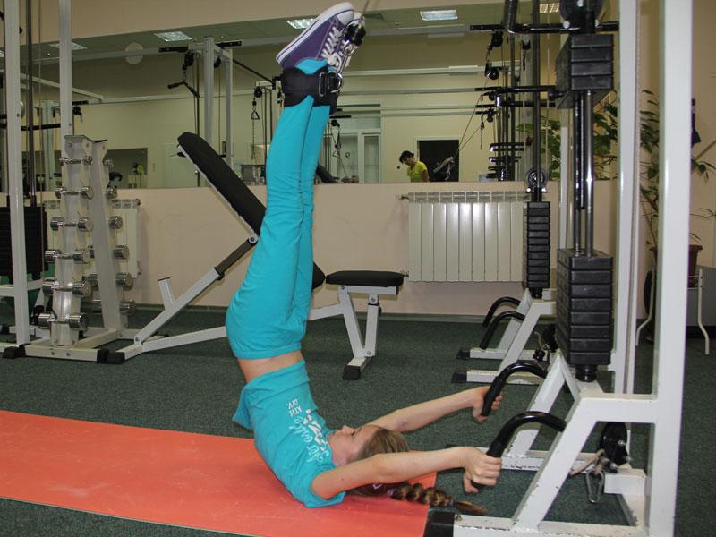 Тренировки в зале после компрессионного перелома